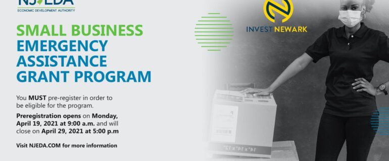 Financial Fridays: NJEDA Small Business Emergency Assistance Grant Program